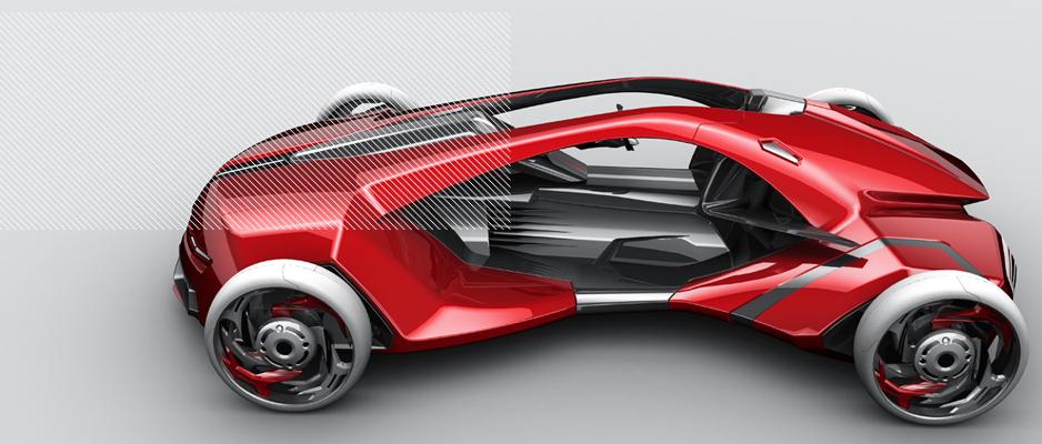 Le Bachelor Stratégie Design Produit Option Auto Moto forme des créatifs, doués d'imagination, mais cependant attentifs aux aspects techniques liés à la construction.