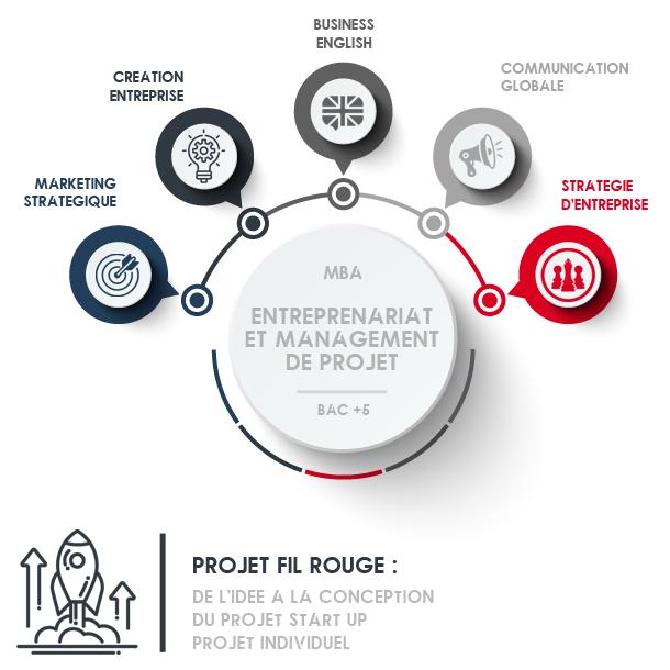 master mba bac+5 école ecole formation management projet gestion entreprenariat