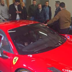 Visite chez Ferrari