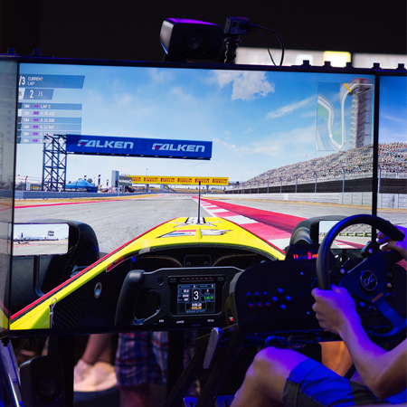formation sim racer sim racing e-sport simulation  course
