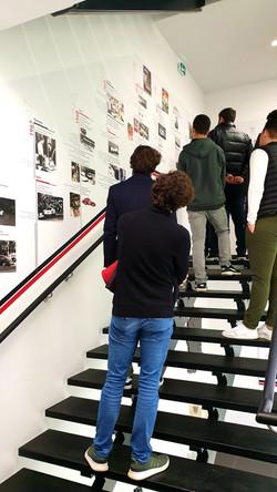Visite du Porsche Experience Center Le Mans