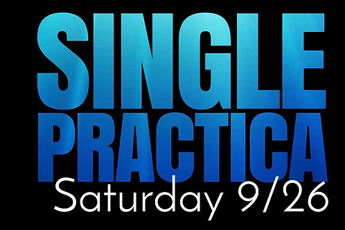 SATURDAY - Single Practica
