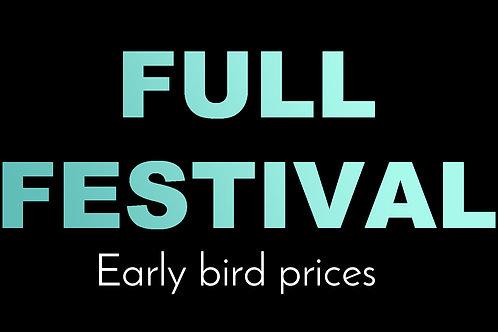 Early Bird - Full Festival
