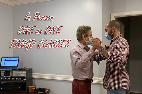 In Person 1-1 CLASSES: Pay by Month