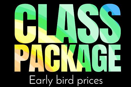 Early Bird - Class Package