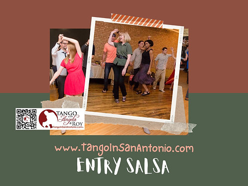 ENTRY SALSA CLASSES: Pay by Month