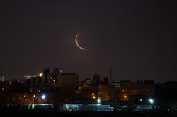 Moonrise before Dawn