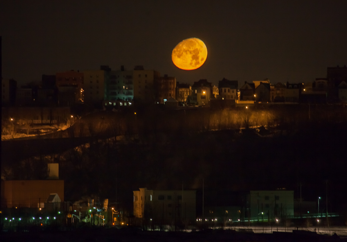 Night Moonset