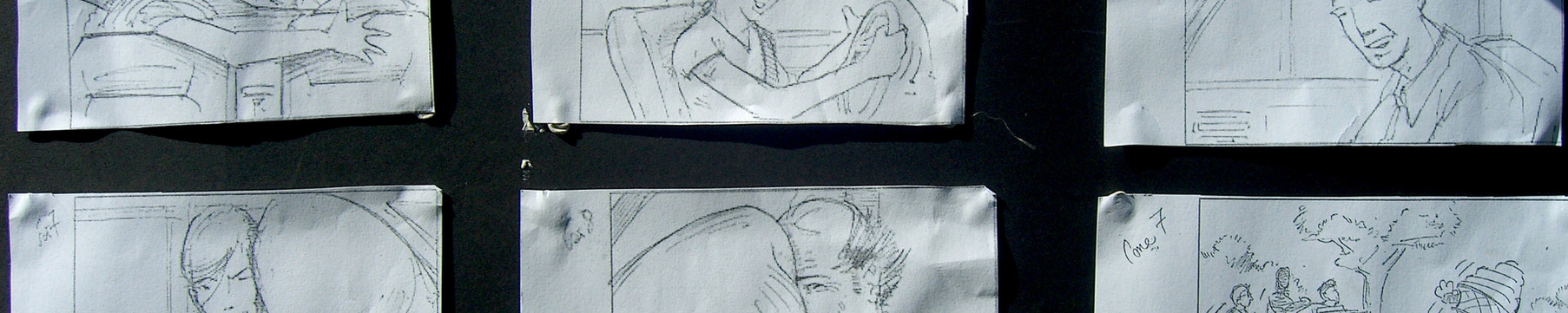 Storyboard for Baskin-Robbins commercial