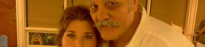 Danielle with M.C. Gainey