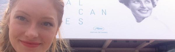 Mallory Snow at Cannes