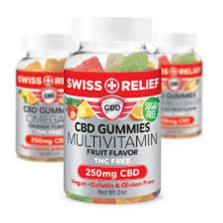 Swiss Relief CBD Gummies