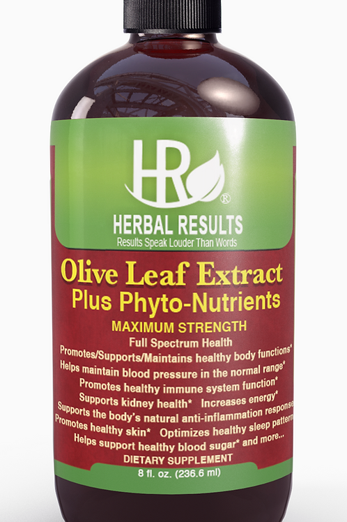 Herbal Results Olive Leaf Extract Super Strength