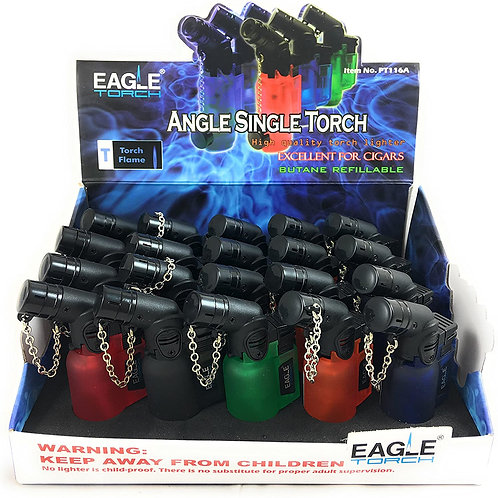 Single Torch Angle Lighters