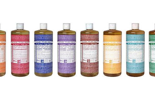 Dr. Bronner's Pure Castile Hemp Liquid Soap