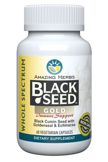 Amazing Herbs Black Seed Gold Immune Support
