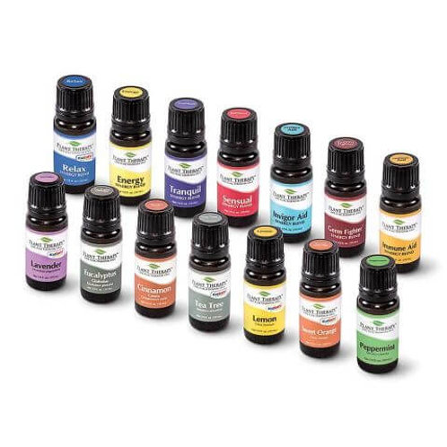 Plant Therapy 7 & 7 AromaFuse Essential Oils Set