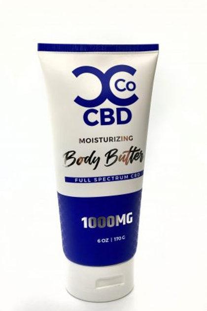 Curt's Concentrates CBD Moisturizing: Body Butter