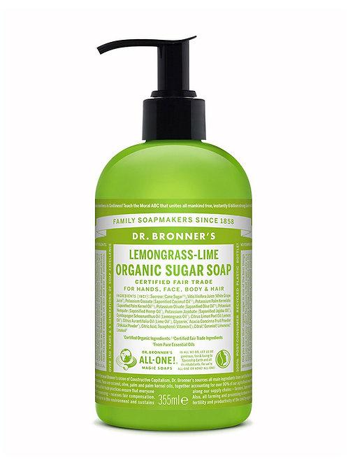 Dr. Bronners 4 in 1Lemongrass- Lime Organic Sugar Soap