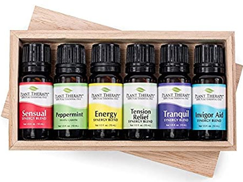 Plant Therapy Essential Oils Romanace Set