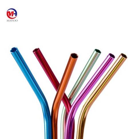Aluminum Drinking Straws 4-Pack