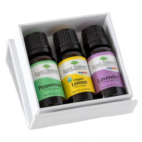 Plant Therapy Essential Oils 3pc (Lemon, Lavander, Peppermint)
