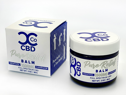 Curt's Concentrates CBD Pure Relief Balm