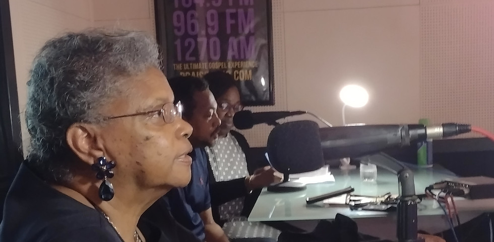 Tidewater Coalition broadcasting the BAF message