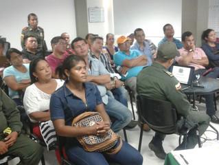 OSA Barranquilla sostuvo reunión con comerciantes y funcionarios de Policía