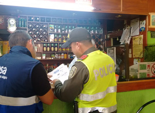 Manizales: OSA y Policía Nacional llevan a cabo operativos en establecimientos comerciales