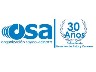 OSA se prepara a celebrar sus 30 años de fundación