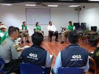 OSA realizó jornada de capacitación a autoridades en Boyacá