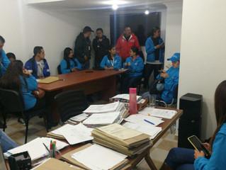 La OSA en nuevos operativos junto a las autoridades en Bogotá