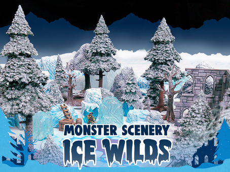explore the new Ice Wilds scenery!