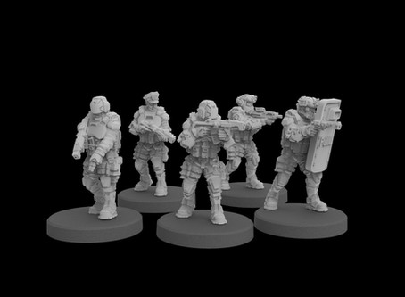 Cyberpunk Miniatures & Monster Scenery Pre-Releases