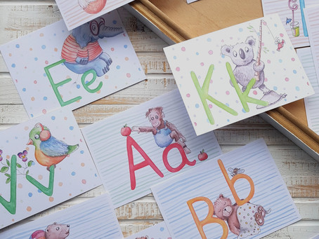 Buchstaben lernen macht Spaß!