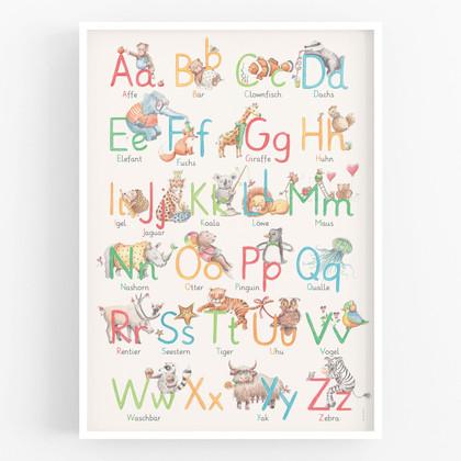 Buchstabenposter