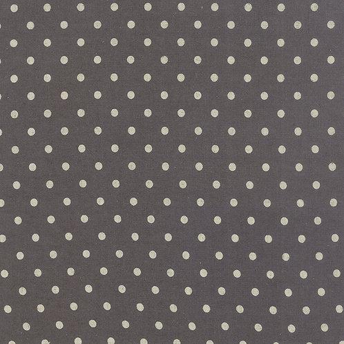 Cotton/Linen Mochi Dot - Lead $30 pm