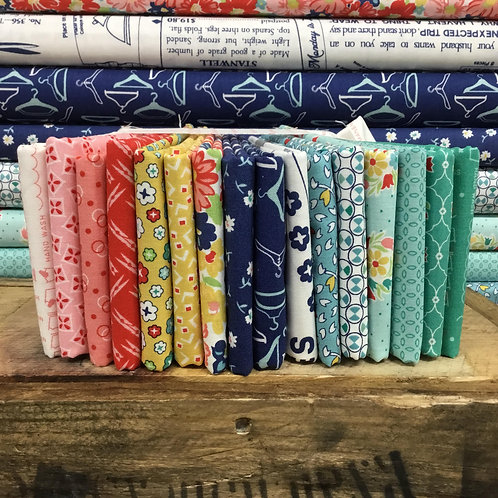 Vintage Happy 2    15 x Fat Quarter Bundle