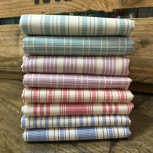 Tilda Tea Towel 8 x Fat Quarter Bundle
