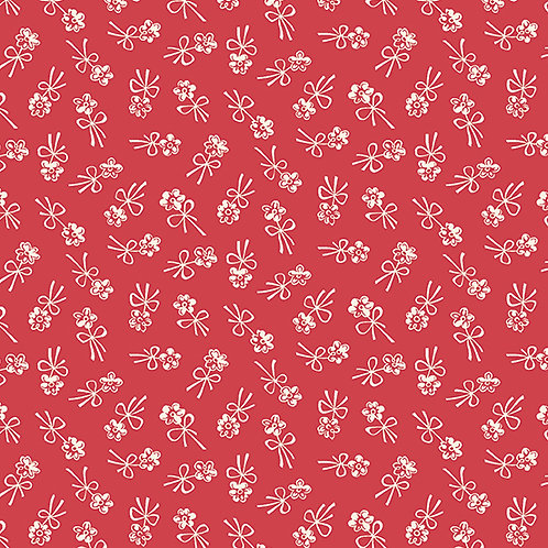 Darling Clementine - Blossom Bows Red $28 pm