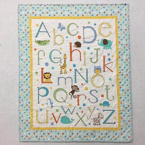 Alphabet Zoo Quilt Kit