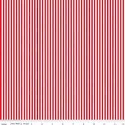 """1/8"""" Stripe Red/White $28 pm"""