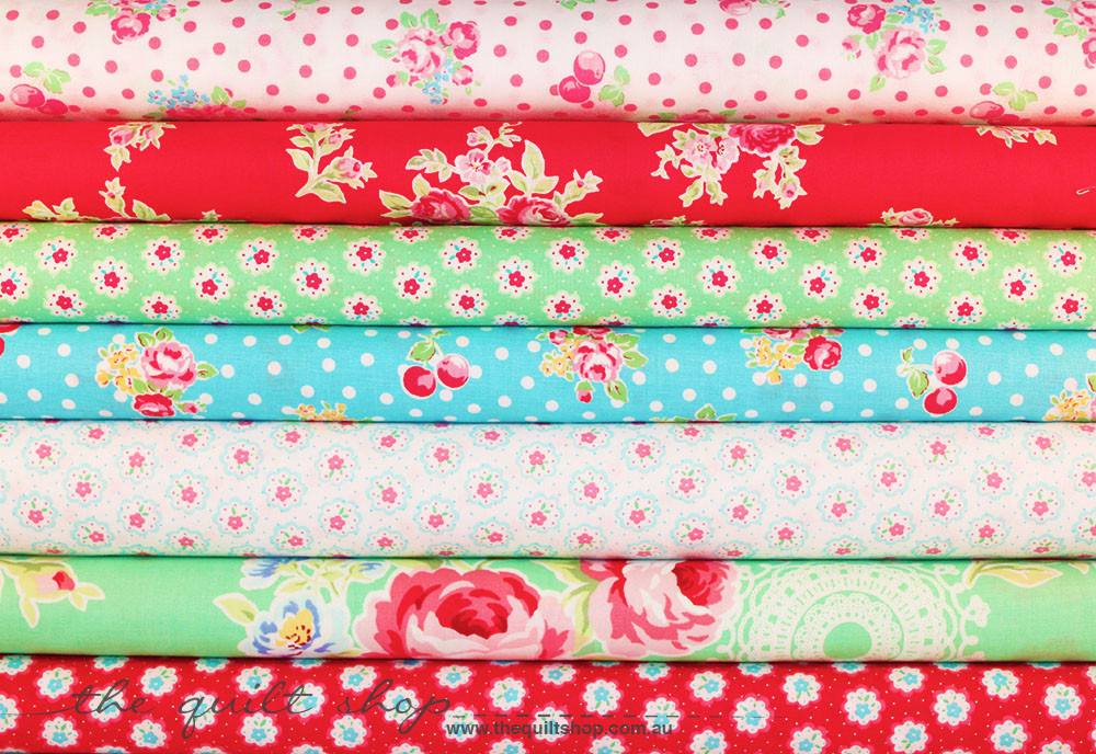 The Quilt Shop Fabric Stack