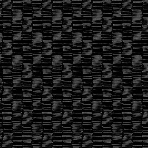 Century Black on Black - Hatched Stripe  $28 pm