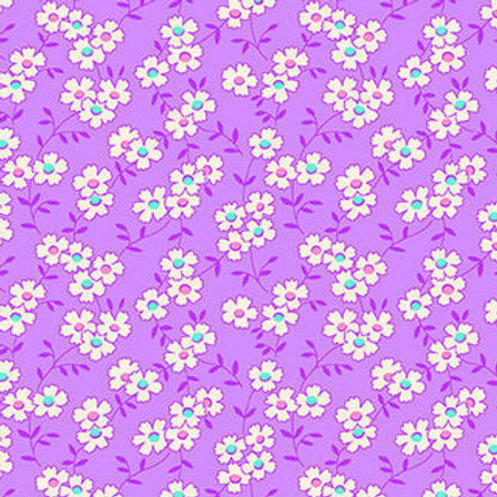 Nana Mae IV - Multicoloured Daisy Purple $28 pm