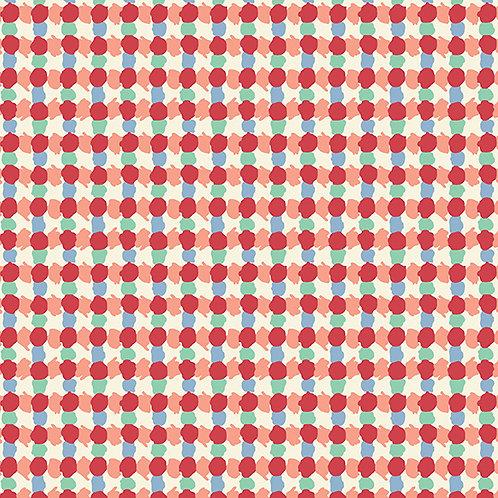 Darling Clementine - Daubs Grid Red $28 pm