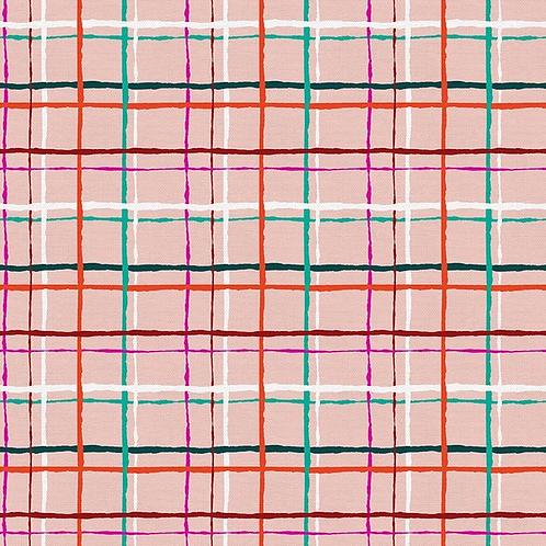 Handmade Holiday - Plaid Pink $30 pm