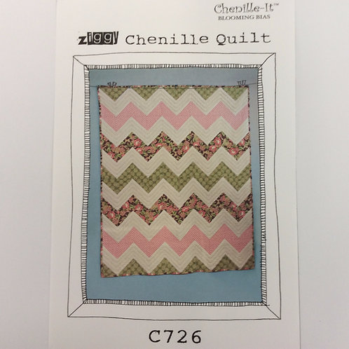 Chenille-It -Ziggy Quilt Pattern