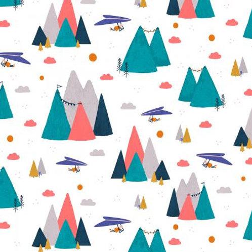 Summer Skies - Mountain Skies Aqua $30 pm